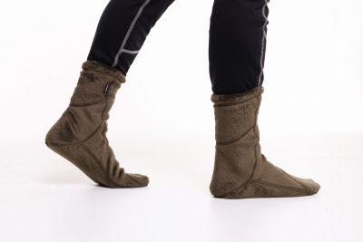 Socks High Loft  khaki