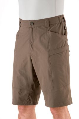 Shorts PC stretch  brown